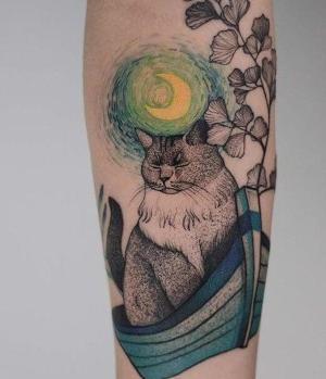 los tatuajes mas bonitos de gatos