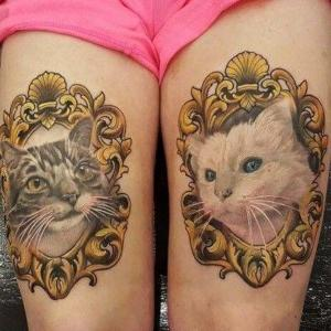 tattoo gatos