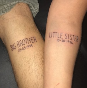 tatuajes frases para hermanos