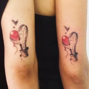 tatuajes para dos hermanas