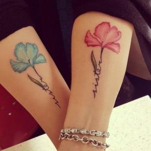 tatuajes para hermanas bonitos