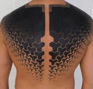 tatuaje en espalda