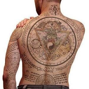 tatuaje para hombre espalda