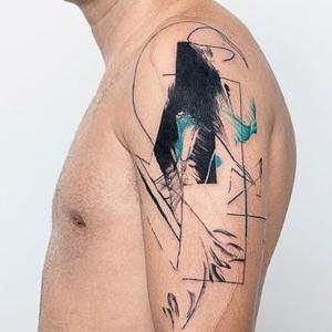 tatuajes en el hombro Kizun