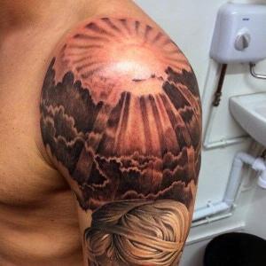 tatuajes para hombres hombro