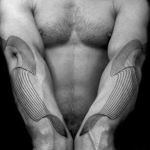 tatuaje brazos hombre