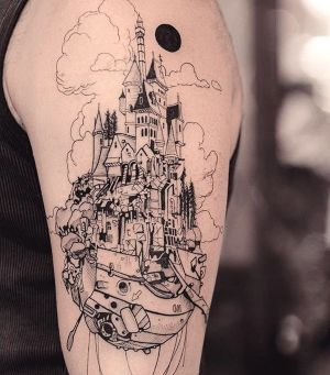 tatuaje hombres brazo original