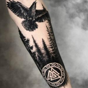 tatuaje para hombre antebrazo