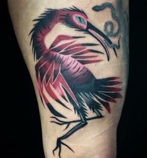 tatuaje en el muslo para hombre