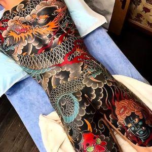 tatuaje cuerpo entero irezumi