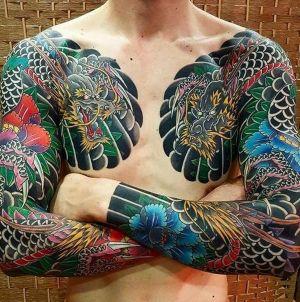 tatuaje irezumi para hombres
