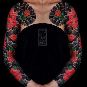 tatuaje japones en brazos