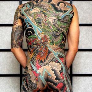 tatuaje para hombre japones