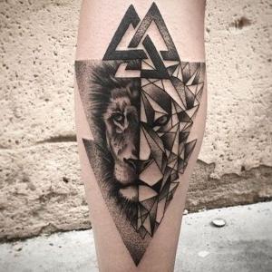 los tatuajes mas chidos de leones