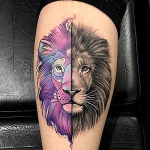 tatuajes para mujeres de leones