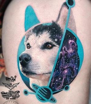 original tatuaje de lobo