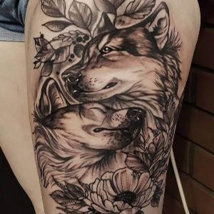 tattoo lobos