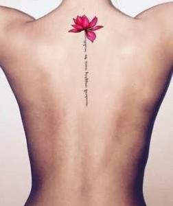 tatuaje de flor de loto con significado