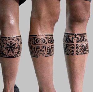 foto de tatuaje maori