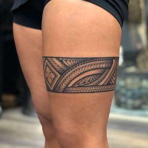 tatuaje maori para mujer