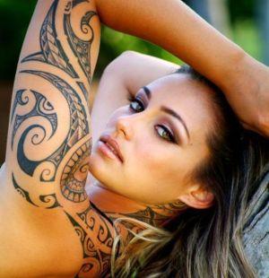 tatuaje para chica maori