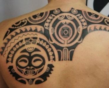 tatuaje para hombre maori