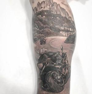 tatuajes originales de motos
