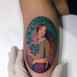 tattoo brazo mujer bonito