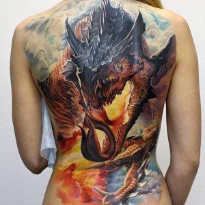 tatuaje ed espalda mujer