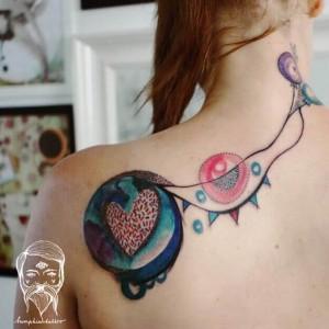 tatuajes chulos para mujer en la espalda
