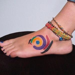 ideas de tatuajes en los pies