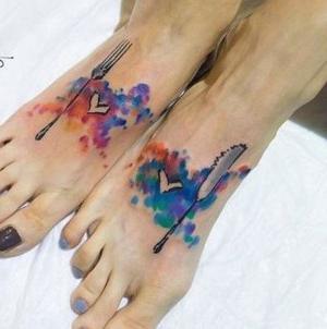 los tatuajes mas originales en los pies