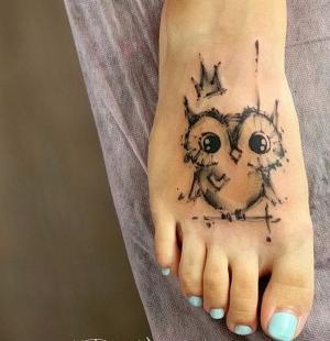 tatuajes en los pies para chicas