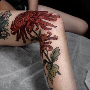 ideas y diseños de tatuajes en la pierna