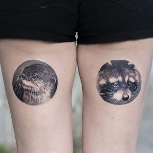 los tatuajes mas originales en las piernas