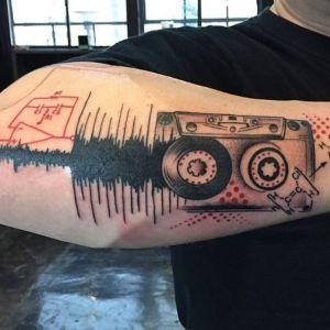 tatuaje trash polka musica