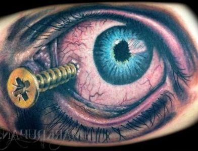 tatuaje de ojo original