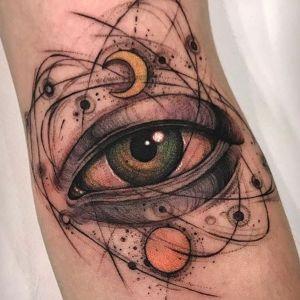 tatuajes de ojos bonitos