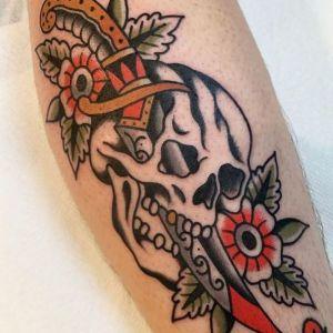 tatuaje inspiración old school