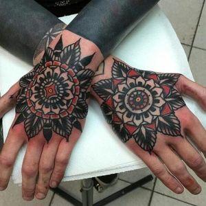 tatuaje para hombre old school