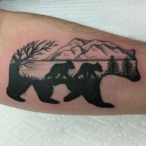 tatuajes de osos originales