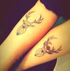 foto de tatuajes en pareja