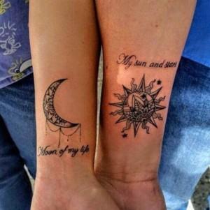 original tatuaje de pareja