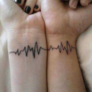 tatuaje pareja amor