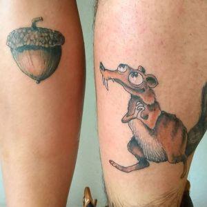 tatuaje pareja graciosos