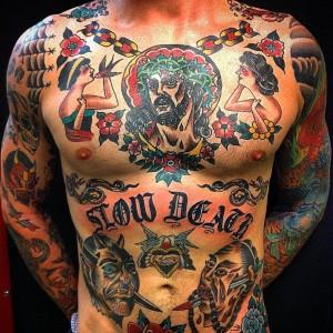 los mejores tatuajes en el pecho