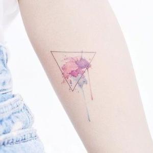 diseño tatuaje acuarela