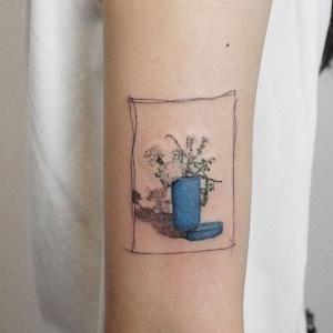 idea de diseño de tatuaje pequeño
