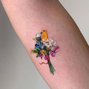tatuaje pequeño antebrazo