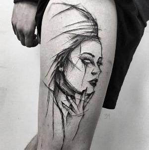 tatuajes bosquejo